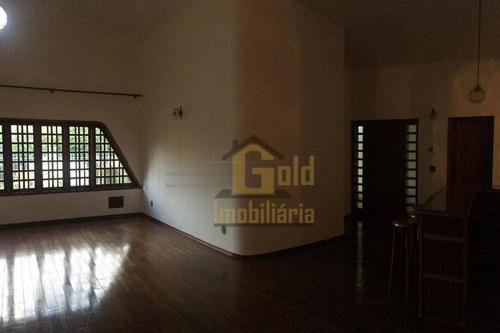 Casa Com 4 Dormitórios À Venda, 440 M² Por R$ 1.500.000,00 - Jardim São Luiz - Ribeirão Preto/sp - Ca1159