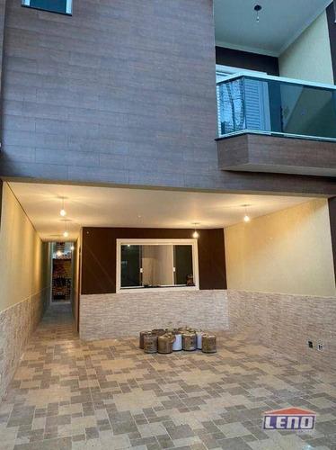 Sobrado Com 3 Dormitórios À Venda, 160 M² Por R$ 695.000,00 - Vila São Geraldo - São Paulo/sp - So0556