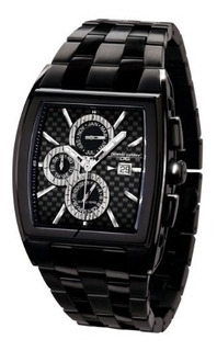Jorg Grey Jg630032 Reloj Rectangular Con Acero Inoxidable So