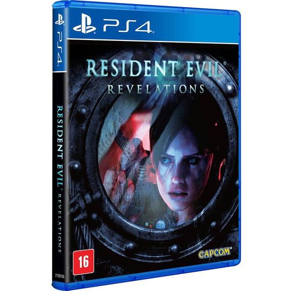 Resident Evil Revelations Ps4 Midia Fisica