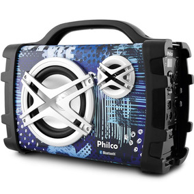 Caixa De Som Philco Pcx120 100w Rms Bluetooth Mp3 Usb Bivolt
