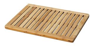 Tapete Para Baño Ducha Antideslizante Madera Bamboo