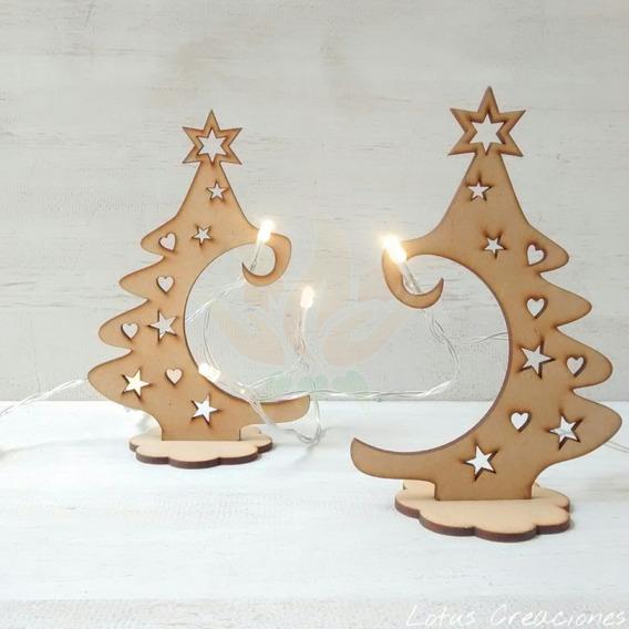 Pinos Navidad -corte Láser-