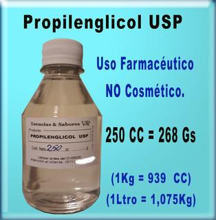 Propilenglicol Usp 250cc + Glicerina Veg. Usp 250cc (500cc)