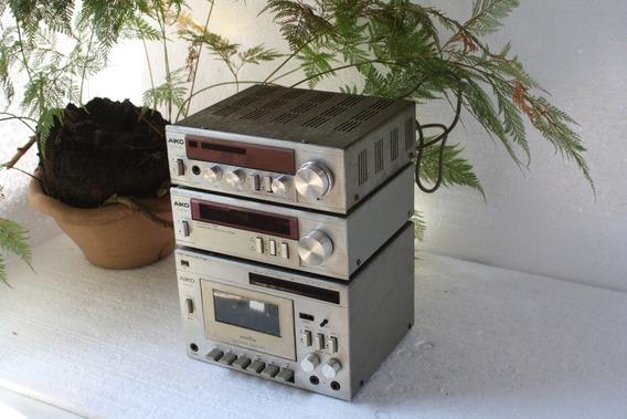 Micro System Aiko 3000 Funcionando Tudo E Bonitao