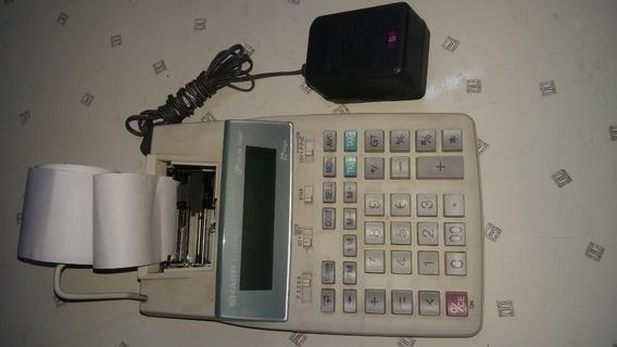 Calculadora De Mesa Sharp El-1750p3 Tinta Fraca De Impressão