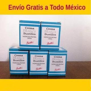 Crema Blanqueadora De Hidroquinona 5 Frascos Envio Gratis