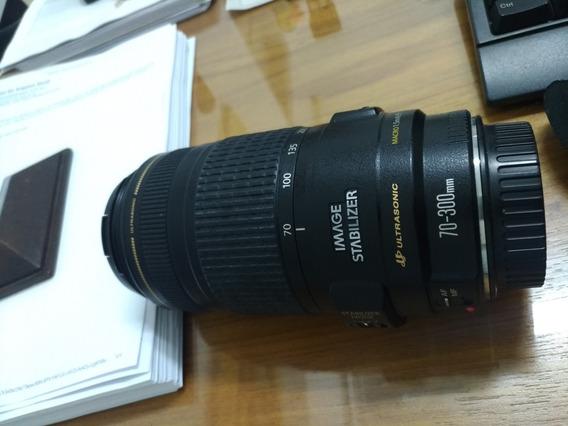 Lente Canon 70-300 Is Precisa De Limpeza