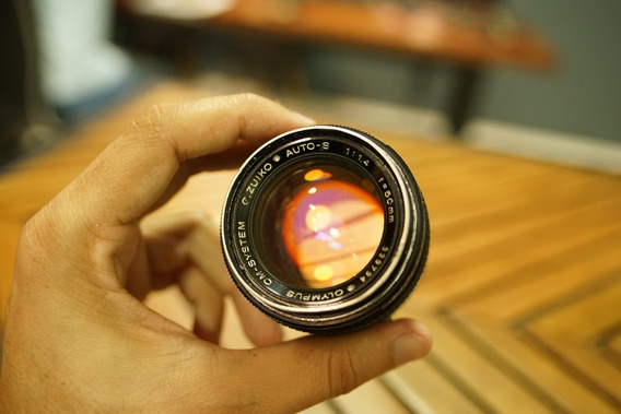 Lente Olympus Om 50mm F1.4 Sony A7 A7s A7r