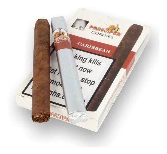Cigarros Principes Corona Ron Caribbean Habanos Puros Puro