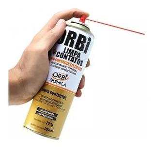 Kit 2 Spray Limpa Contatos Orbi Química 300ml