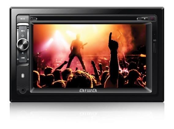Reproductor Audio Y Video Aiwa 2din Pantalla 6.2 Nuevo