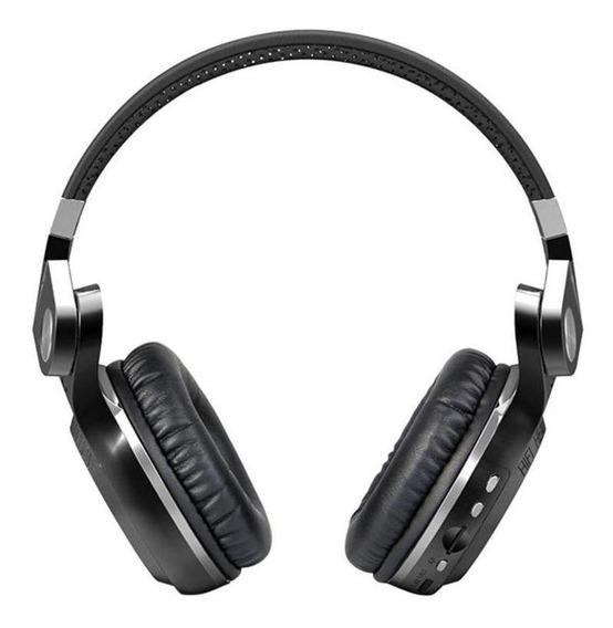 Fone de ouvido sem fio Bluedio T2+ black