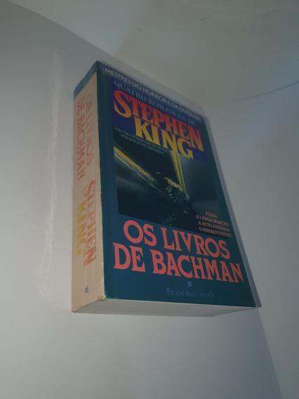Os Livros De Bachman - Stephen Kink