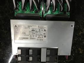 Fonte Delta 2400w Platinum P/ Mineração 220v Usada C/ Cabos