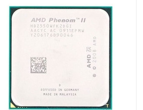 4 Processador X-550 X2 3.10 Ghz Am3+ 6mb Cache
