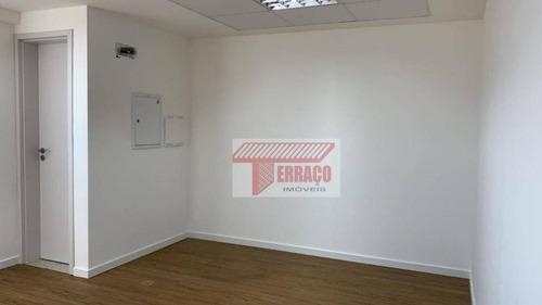 Sala Para Alugar, 32 M² Por R$ 900,00/mês - Vila Bastos - Santo André/sp - Sa0078