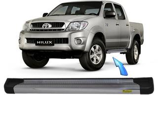 Estribo Integral Aluminio Hilux Cabine Dupla 2005 2015