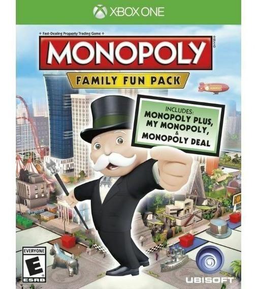 Jogo Xbox One Monopoly Family Fun Pack Original Lacrado
