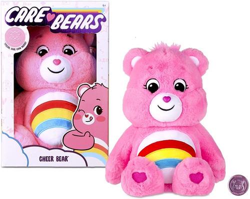 Pelúcia Ursinhos Carinhosos Care Bears 2020 Cheer Pink Rosa