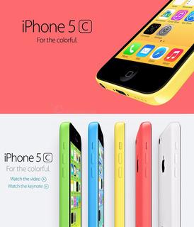 Original Da Apple iPhone 5c Desbloqueado 32 Gb + 1 Gb De Arm