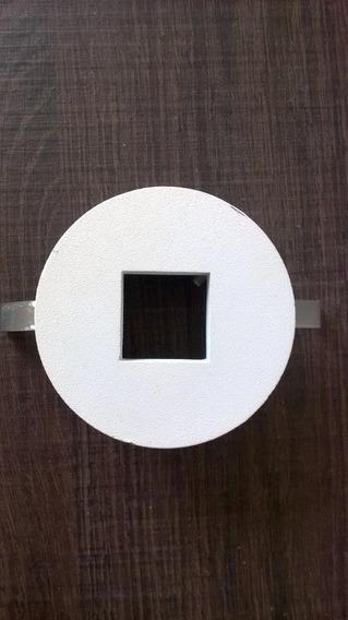 Embutido Built Redondo Com Furo Quadrado Branco Mr11