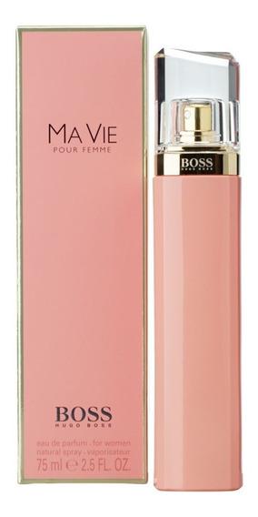 Perfume Hugo Boss Ma Vie Edp Feminino 75ml Original Lacrado