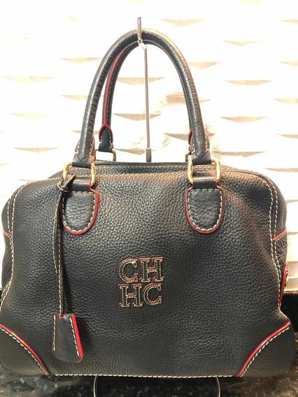 Bolsa Carolina Herrera Couro E Original