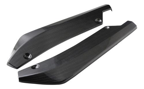Imagen 1 de 6 de Parachoques Trasero Lip Splitter Universal Car Side Fender