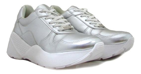 Zapatillas Mujer Deportiva Running Confort Cordones Mak-10