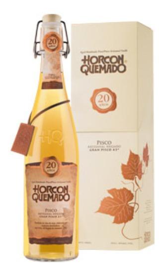 Pisco Horcon Quemado, 20 Años 43° /bbvinos