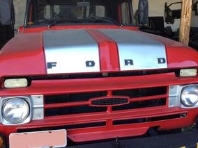 Guincho Caminhão Ford F600 Vermelho 1969 Mb 1113