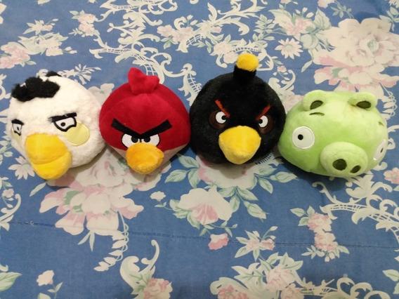 Angry Birds Pelucia Mc Donalds Lote Com 3