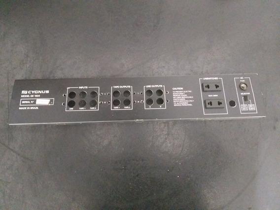 Peças Equalizador Cygnus Ge1800 Painel Traseiro