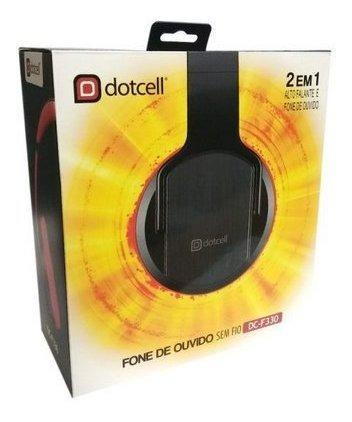 Novo Fone De Ouvido Headset Dotcell 2 Em 1 Bluetooth