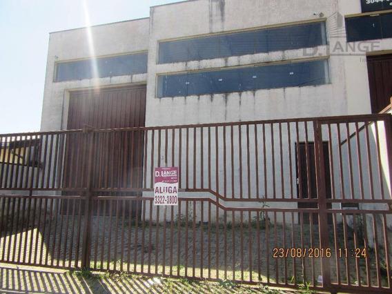Barracão Comercial Para Venda ( P/ Investidor - Já Alugado ) Jd. Sumarézinho .ba0902 - Ba0902