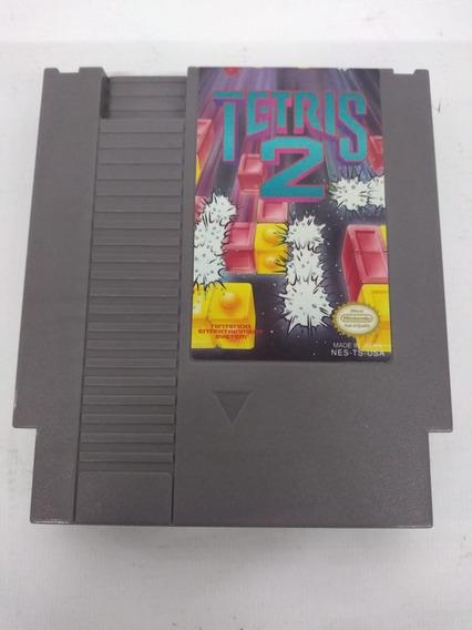 Cartucho Jogo Tetris 2 Original Nes Nintendo 8 Bits Fita