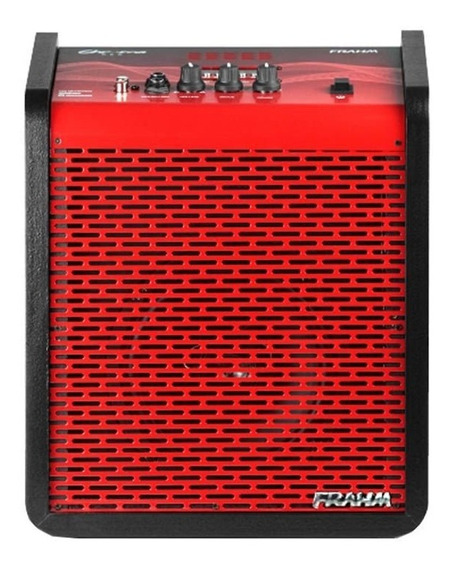 Caixa Amplificada Multi-uso Red 100w 6 Polegadas Frahm