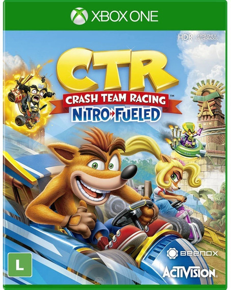 Crash Team Racing Ctr Xbox One Disco Fisico Novo Português