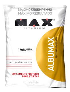 Albumina Proteina Maxtitanium Albumax 500gr