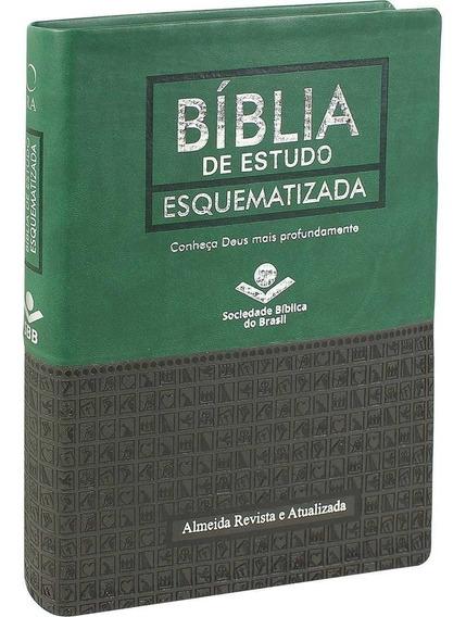 Bíblia De Estudo Esquematizada - Verde Preta