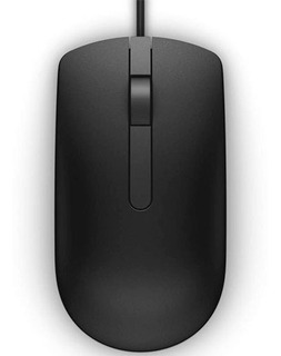 Mouse Optico Dell Ms116 Alambrico Usb