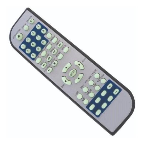 Controle Remoto Dvd Eletrovison Ev300-ev407-ev597 - 6065