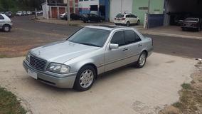 Mercedes C280 1997 Prata Com 80 Mil Km