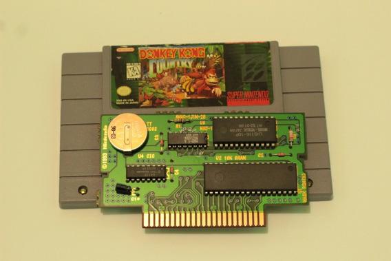 Donkey Kong Original Americano Para Super Nintendo Snes