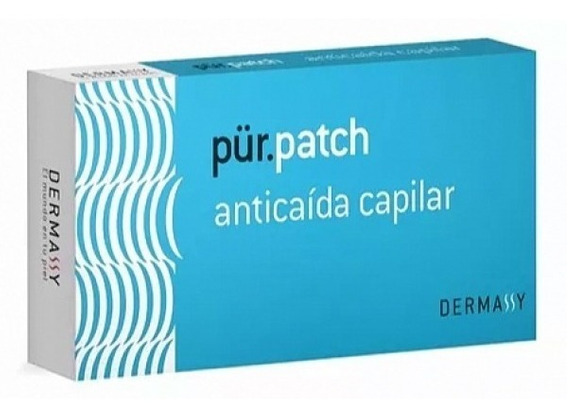 Oferta 28 Parches Anti Caida Fortalecedor Capilar Pur Patch