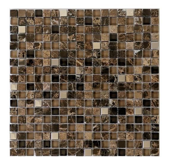1 X Malla Mosaico Decorativa Cenefa Marmol Vidrio Scotland