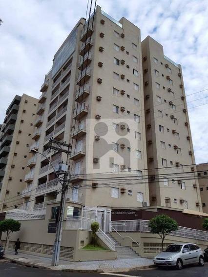 Apartamento Com 3 Dormitórios À Venda, 107 M² Por R$ 500.000 - Jardim Paulista - Ribeirão Preto/sp - Ap0930