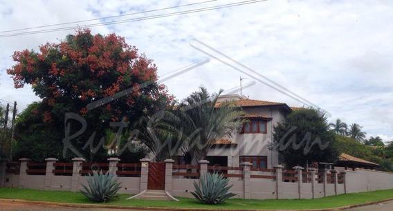 Casa Com 5 Dormitórios À Venda, 400 M² Por R$ 1.190.000 - Parque Ana Helena - Jaguariúna/sp - Ca3327