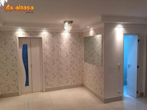 Apartamento Com 3 Dormitórios À Venda, 95 M² Por R$ 630.000 - Vila Augusta - Guarulhos/sp - Ap0557